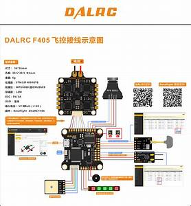 Dalrc F405  U98de U63a7 Dalrc F405 Flight Control F4 U9ad8 U6027 U80fd U98de U63a7  U53cc U6c19 U8f66 U706f U6539 U88c5 U7f51