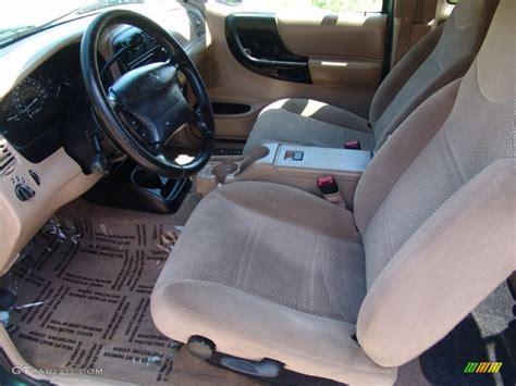 medium graphite interior  ford ranger xlt supercab