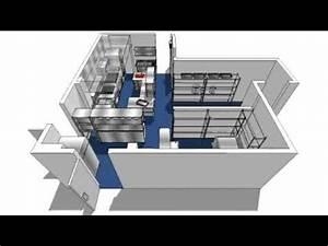 Commercial Kitchen Design 3D Walkthroughavi YouTube