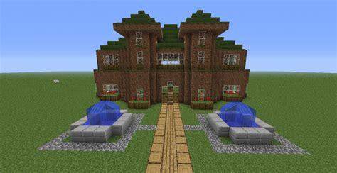 dirt mansion minecraft project