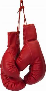 hanging boxing gloves PNG image