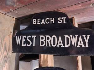 Real Estate Essay Tribeca Citizen Seen Heard Old Tribeca Street Signs