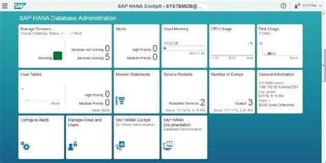 sap hana cockpit learn