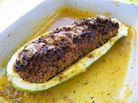 cuisiner une grosse courgette les meilleures recettes de courgettes farcies et viande