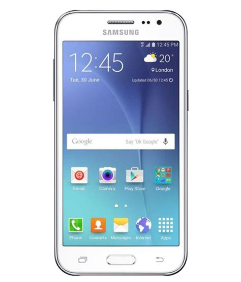 Samsung Galaxy J2 (8GB, White) Mobile Phones Online at Low
