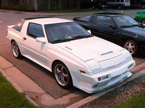 mitsubishi starion mitsubishi starion turbo wide body 2 6 1987 1989