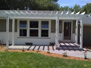 Pin Visit Site Front Porch Pergola Design Ideas
