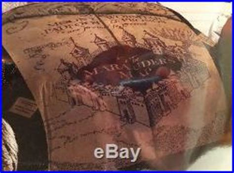 marauders map bedding new harry potter hogwarts marauder s map