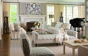 Beautiful White Tufted Chaise Lounge Also White Fireplace