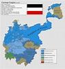 German Empire in 2015 : imaginarymaps