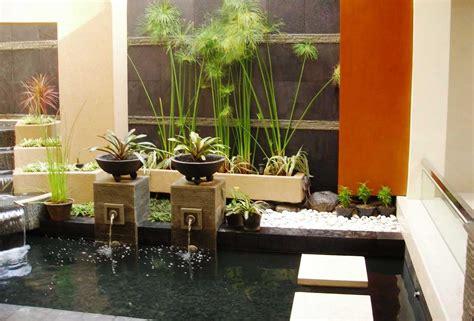 taman minimalis  rumah indoor ukuran kecil