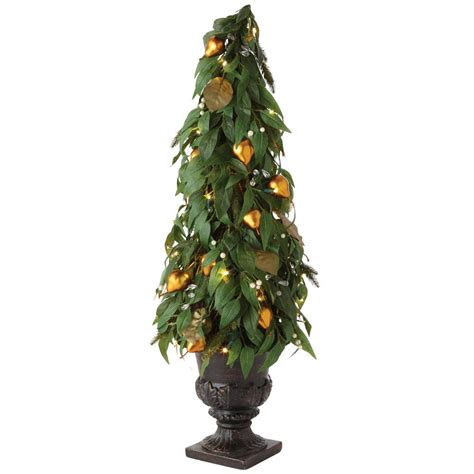 martha stewart faux christmas tree martha stewart living 7 5 ft pre lit led pine