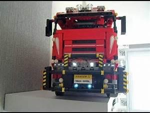Lego Technic Camion : lego technic camion 8258 remorque youtube ~ Nature-et-papiers.com Idées de Décoration