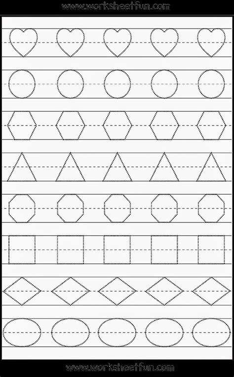 preschool free printable worksheets worksheet mogenk paper works