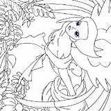 Coloring Games Pages Colering Denis Magdalena September sketch template