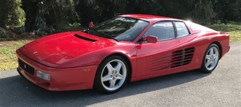 Set an alert to be notified of new listings. 1994 Ferrari 512 TR 0 Miles Red for sale - Ferrari 512 TR ...