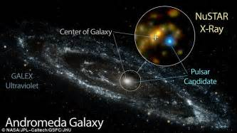 Mystery Andromeda Bright Region Solved Daily Mail