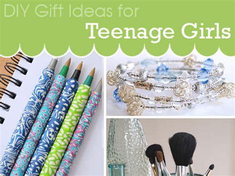 Diy Gift Ideas For Teenage Girls