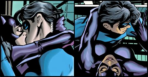 The Time When Nightwing And Catwoman Batmans To Be Wife