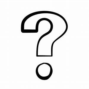 Question Mark Clip Art Black And White Png | Clipart Panda ...