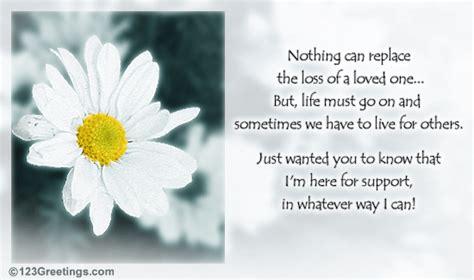 supportive condolence card  sympathy condolences ecards