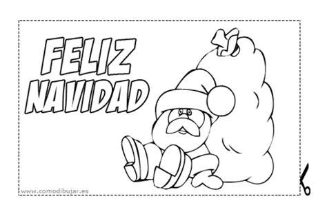dibujos para tarjetas de navidad para ni241os tarjetas de navidad para colorear e imprimir con pap 225 noel de todo navidad