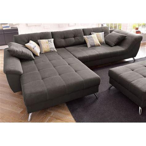 tres grand canapé d angle canapé d 39 angle avec méridienne modulable un style très