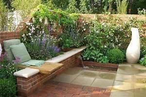 construire un muret fleuri With amenagement de jardin en pente 6 gartenanlage am hang