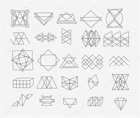 Abstract Drawing Using Shapes by Abstract Shapes Drawing At Getdrawings Free For