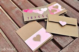 Paint Chip Handmade Thank You Cards