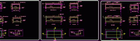 study table dwg plan  autocad designs cad