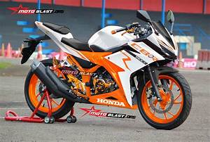 Modifikasi Striping All New Cbr150r White
