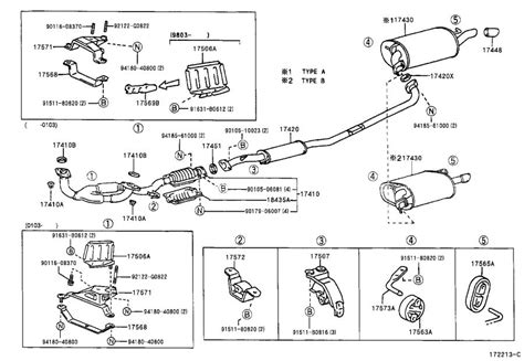 Toyota Exhaust System Hanger Holds Engine