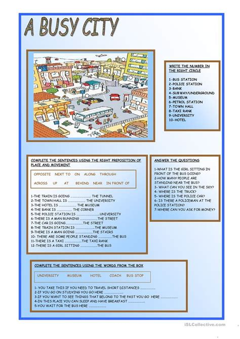 free printable esl worksheets by teachers for teachers a busy city worksheet free esl printable worksheets made by teachers