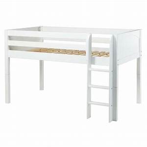 Low rider panel low loft bed rosenberryroomscom for Low loft bed