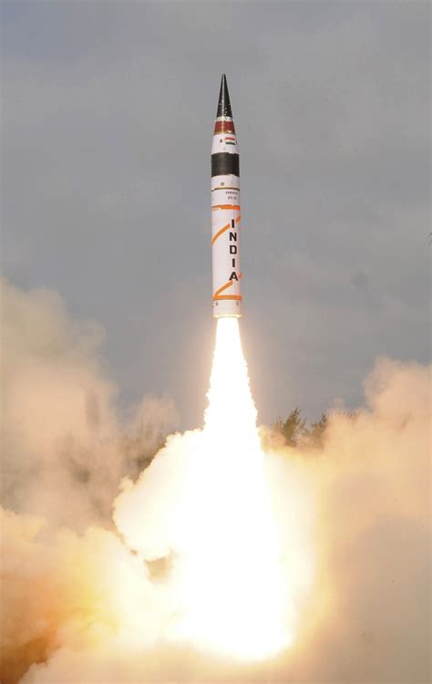 pakistan to launch missile india alerted an answer to agni v