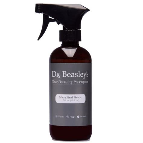 matte finish cleaner dr beasleys page