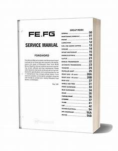 Mitsubishi Fuso 1992 95 Fe Fg Service Manual