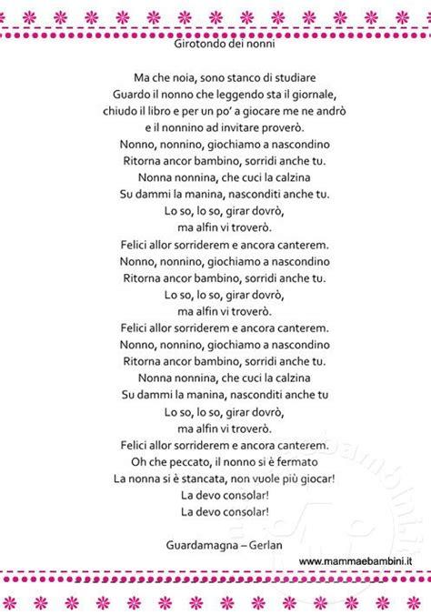 Le Di Natale Testo by Filastrocche Archivi Mamma E Bambini