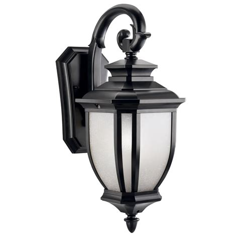 kichler 19 inch outdoor wall light 9040bk destination