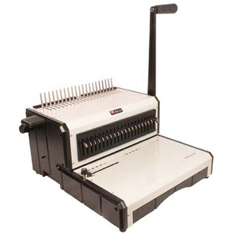150 cm free ace punch akiles alphabind cm 12 quot manual comb binding machine punch