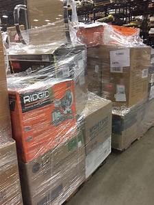 Home Depot Premium Merchandise Truckload  Home Depot