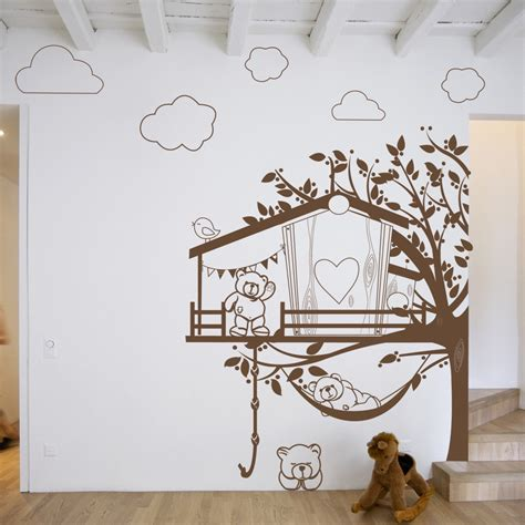stickers deco chambre stickers chambre bebe ourson