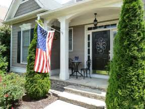 Front Porch Memorial Day Decor Ideal Setting Hanging Front Porch Light Fixtures