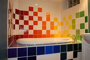colorful bathroom tiles furnishing irooniecom With colorful tiles for bathroom