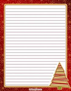 printable christmas stationery With christmas letter writing paper
