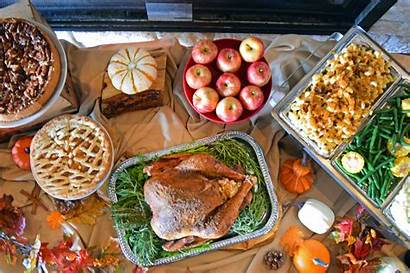 Dinner Thanksgiving Buffet Office Viewhouse Corporate Carte