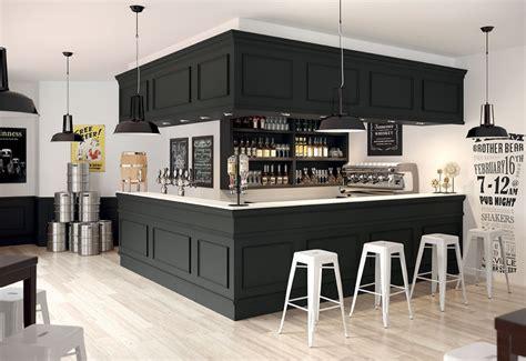 brasserie le bureau bar brasserie débit de boisson bar à vin agencement