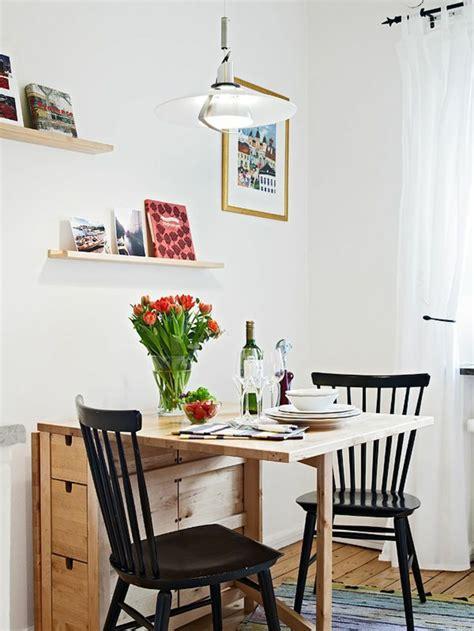 table pour la cuisine la table de cuisine pliante 50 idées pour sauver d