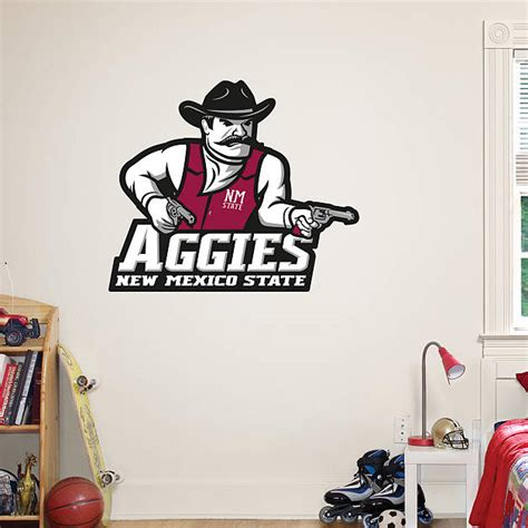 New Mexico State Aggies Logo Wall Decal  Shop Fathead